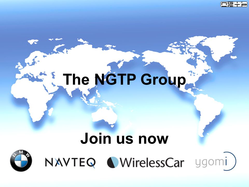 The NGTP Group Join us now