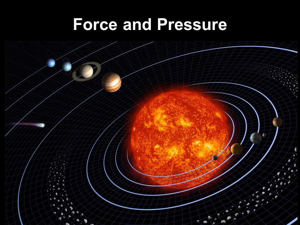 Force and Pressure 1