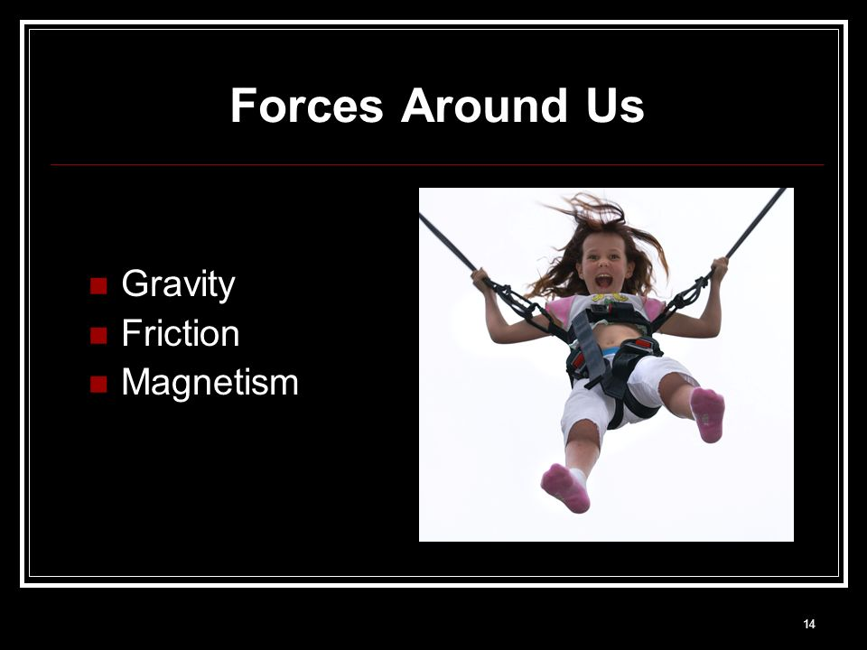 Forces Around Us Gravity Friction Magnetism