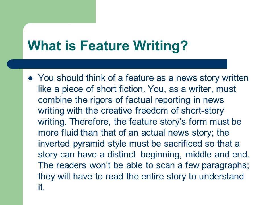 What Is a Feature Article in Journalism?
