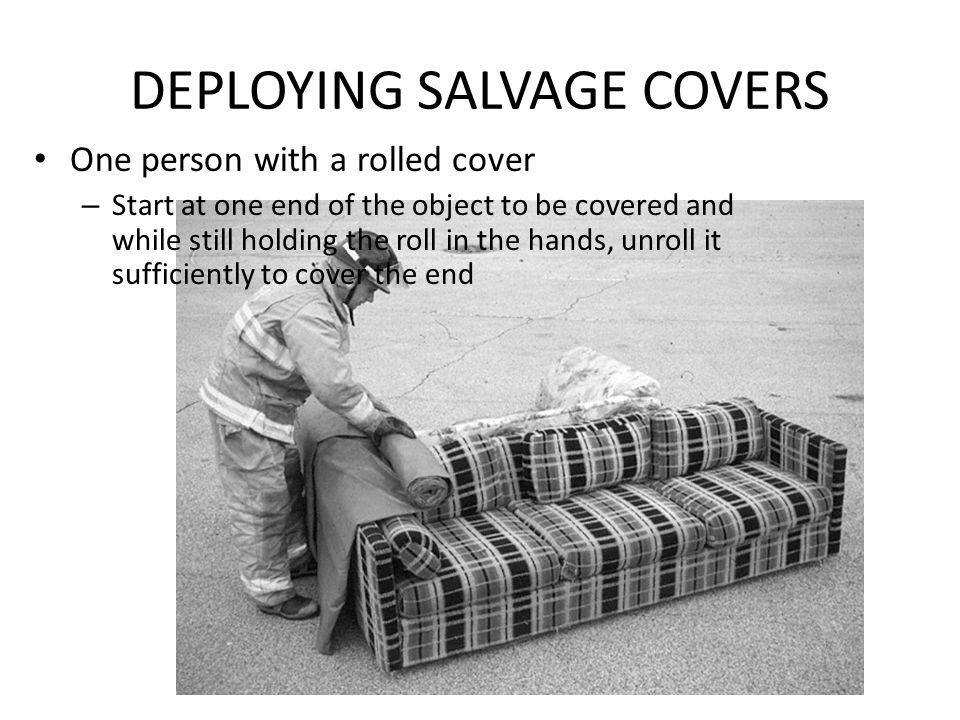 DEPLOYING SALVAGE COVERS