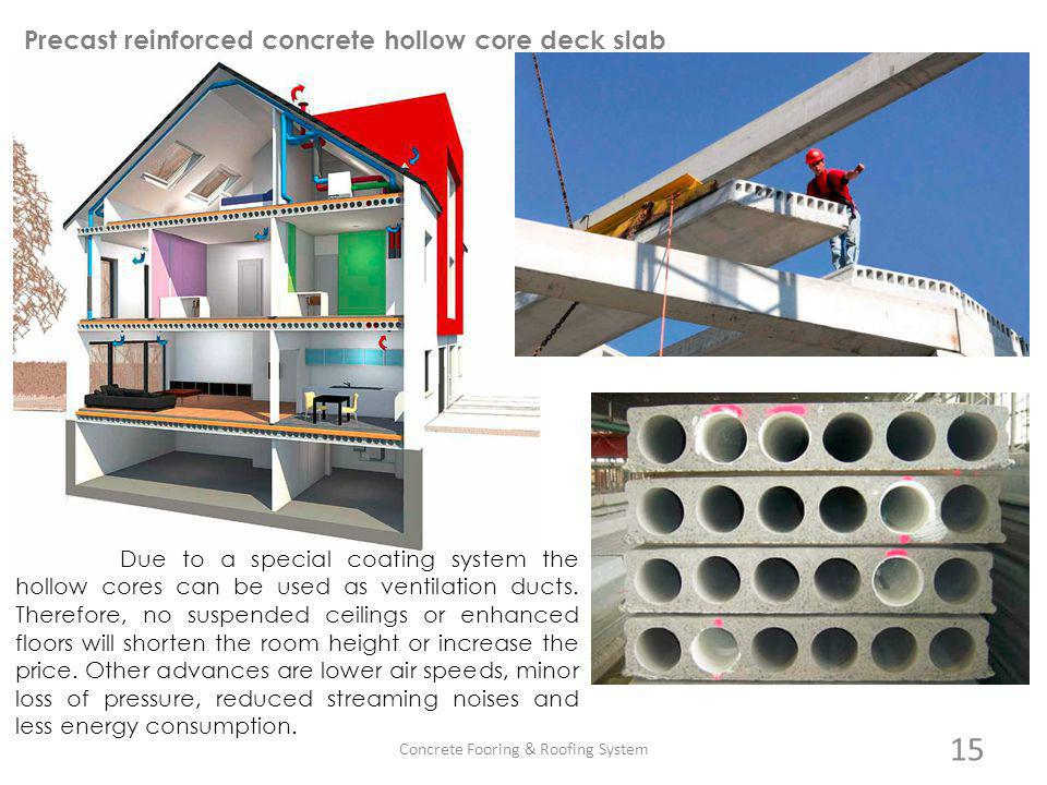 Concrete Fooring & Roofing System