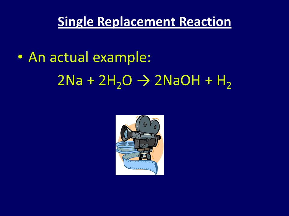 Single Replacement Reaction