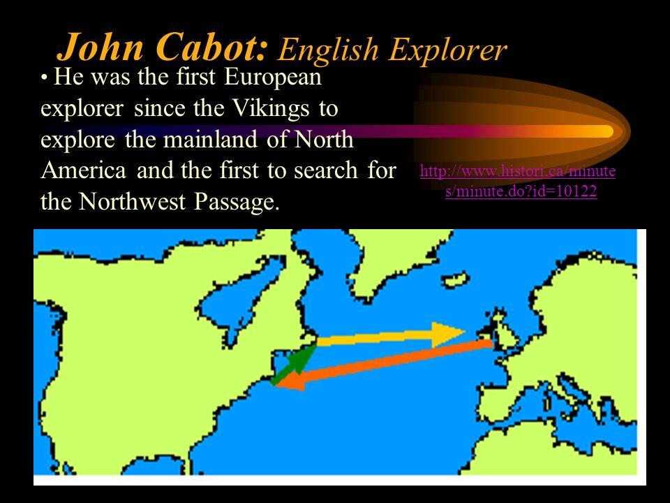 John Cabot: English Explorer