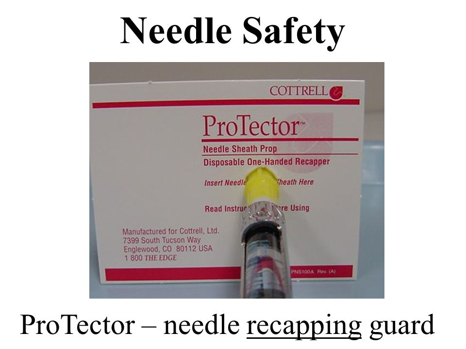 ProTector – needle recapping guard