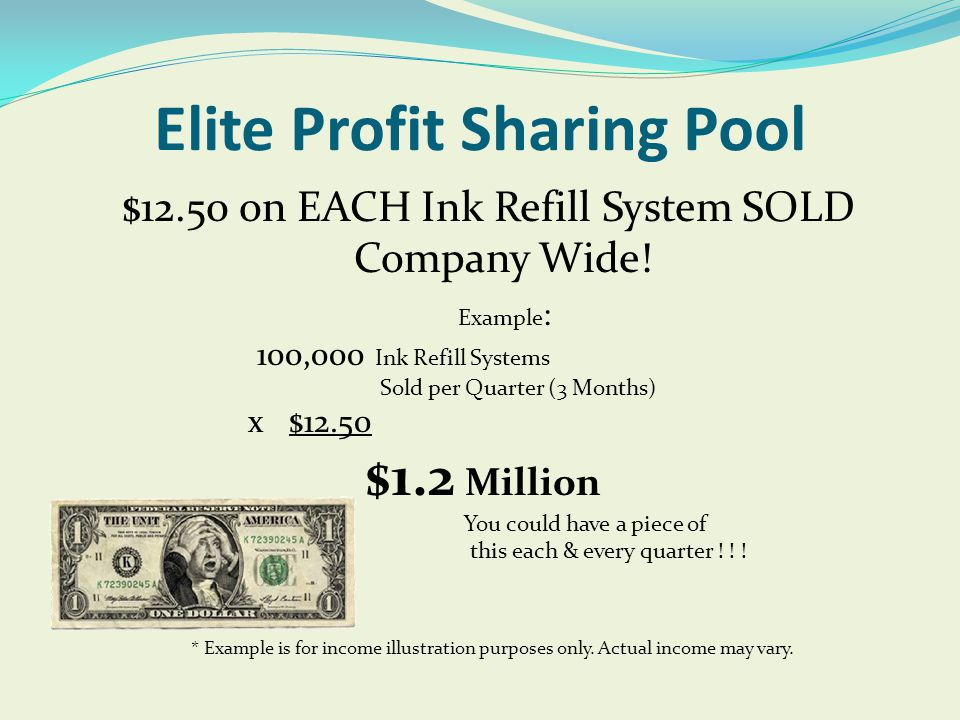 Elite Profit Sharing Pool
