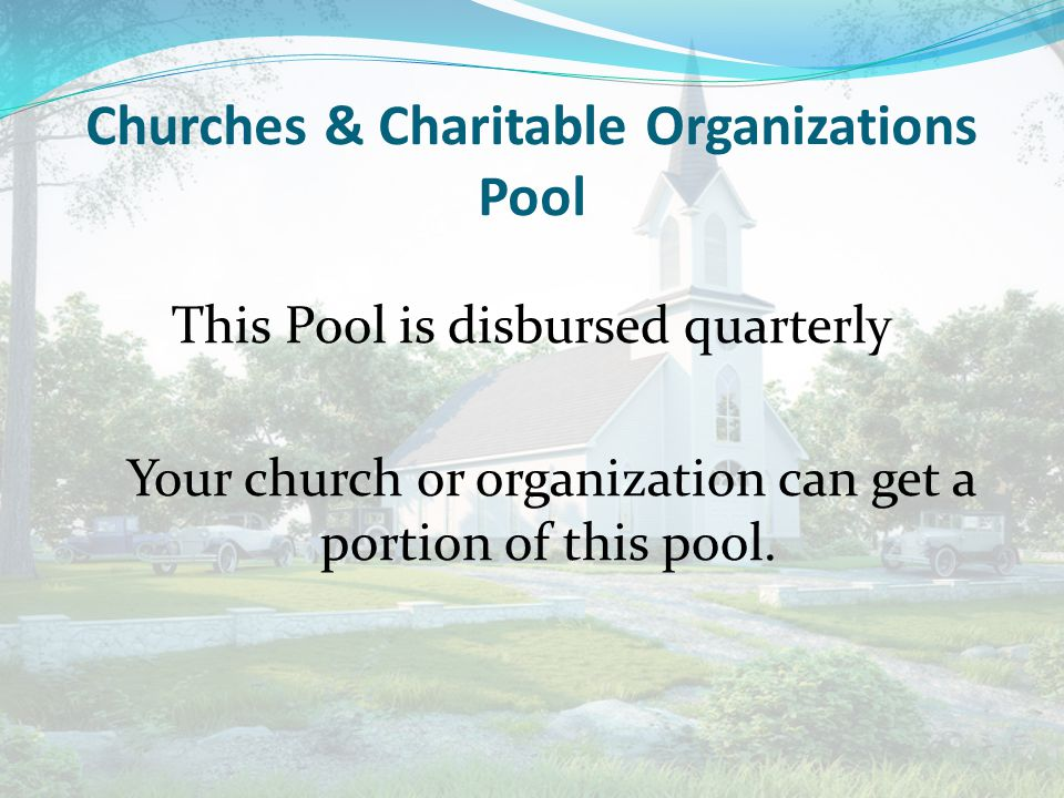 Churches & Charitable Organizations Pool