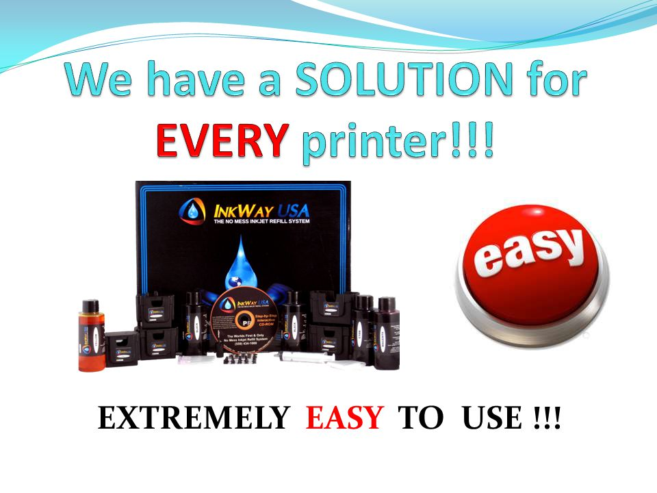 We have a SOLUTION for EVERY printer!!!