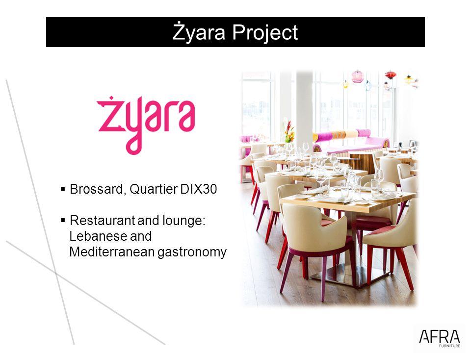 Żyara Project Brossard, Quartier DIX30