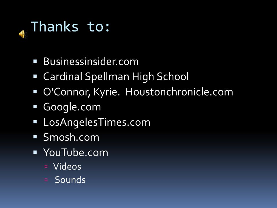 Thanks to: Businessinsider.com Cardinal Spellman High School