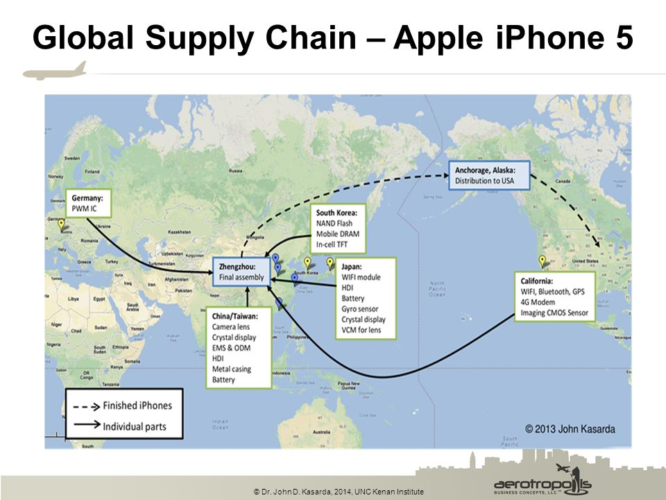 Global Supply Chain – Apple iPhone 5