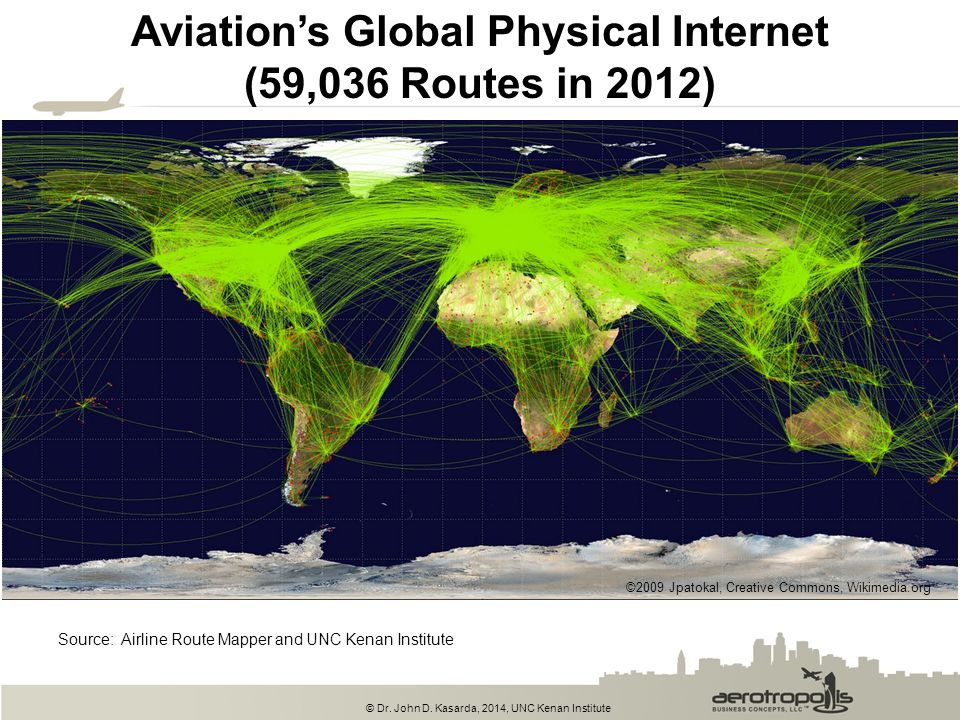 Aviation's Global Physical Internet