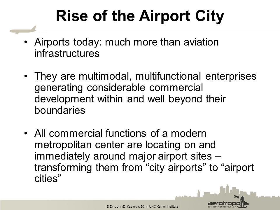 Rise of the Airport City