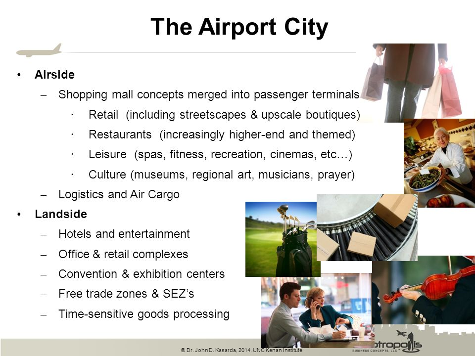 The Airport City Airside