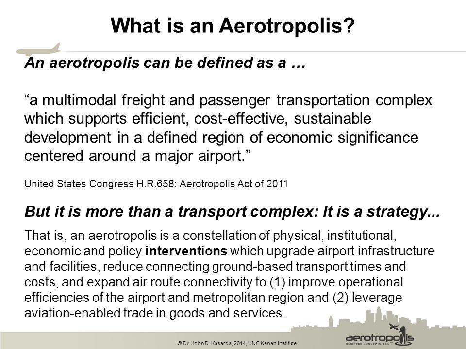 What is an Aerotropolis