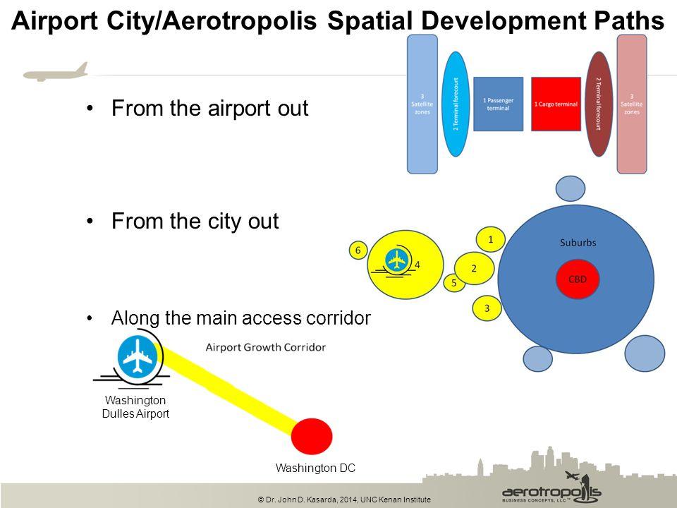 Airport City/Aerotropolis Spatial Development Paths