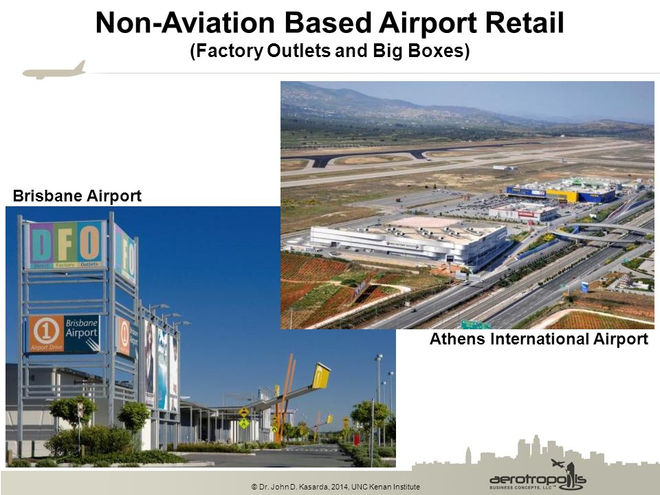 Non-Aviation Based Airport Retail (Factory Outlets and Big Boxes)