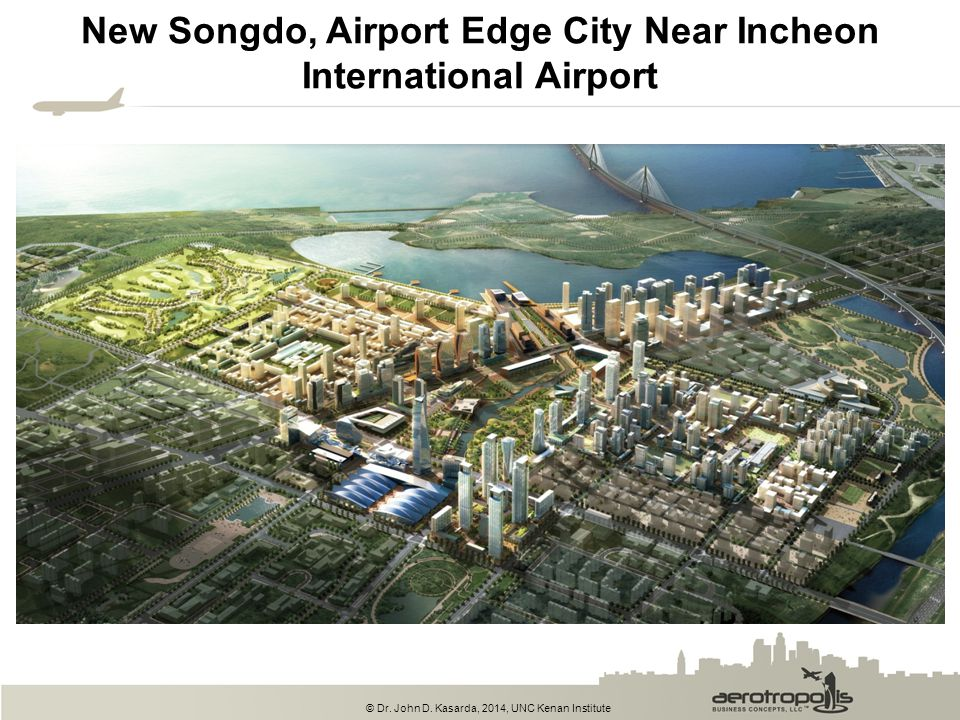 New Songdo, Airport Edge City Near Incheon International Airport