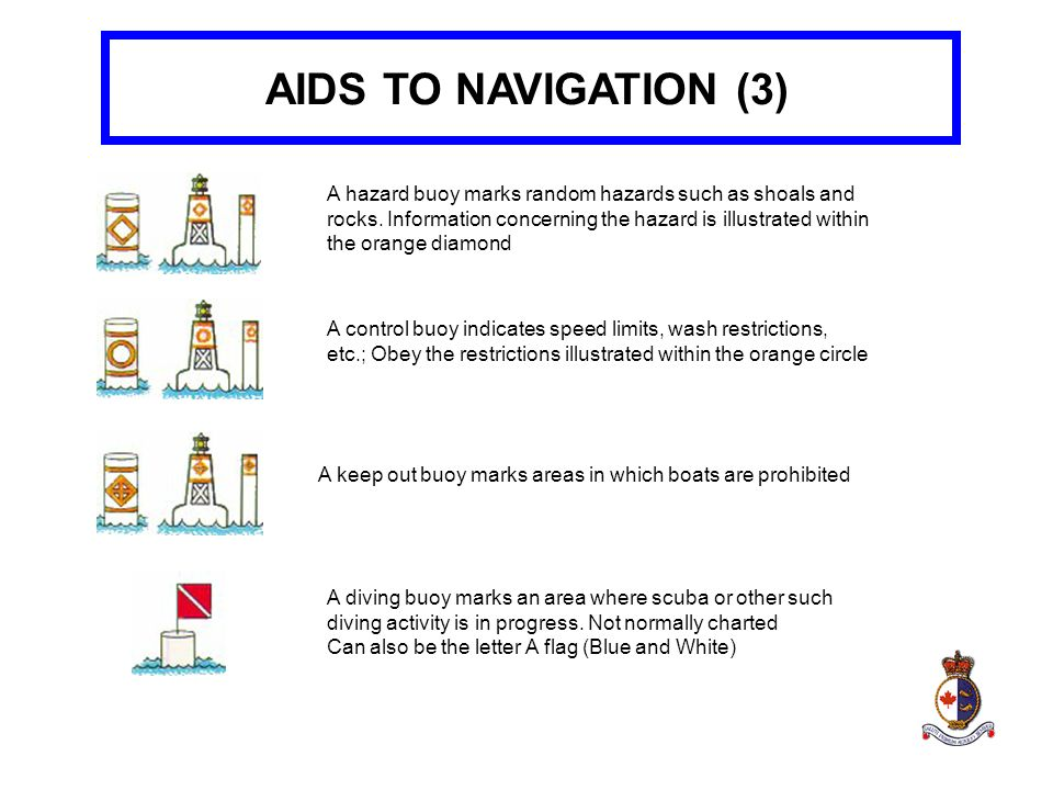 AIDS TO NAVIGATION (3)