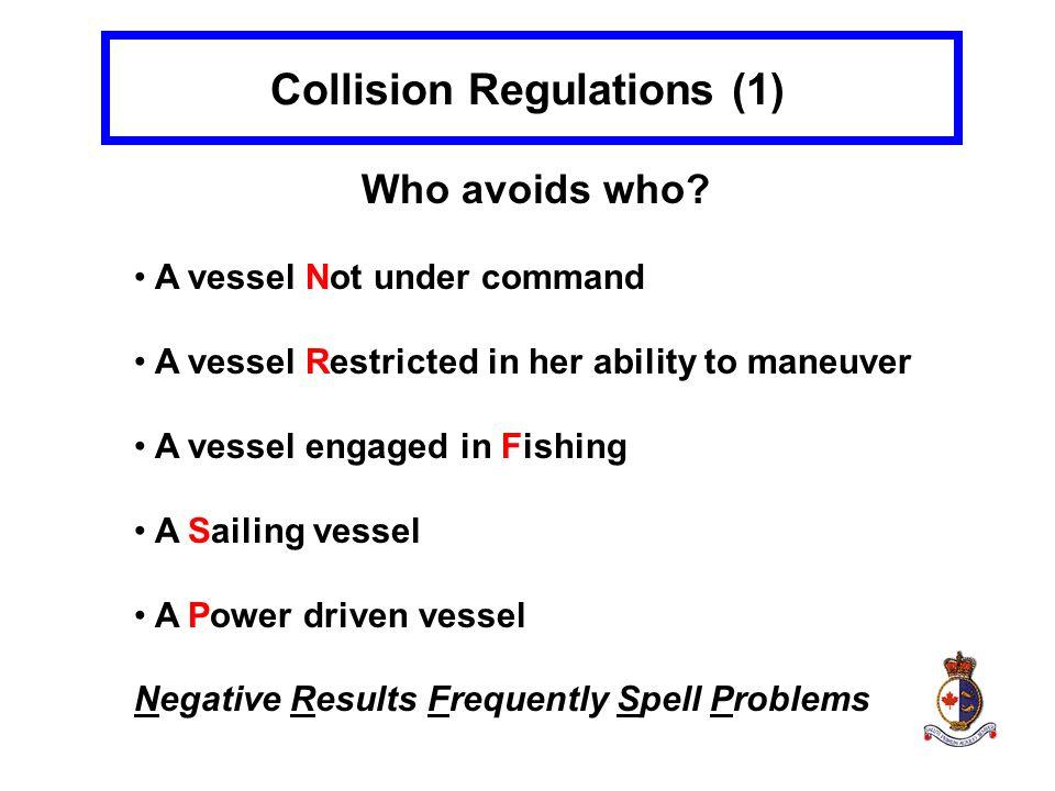 Collision Regulations (1)