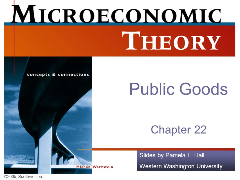 Public Goods Chapter 22