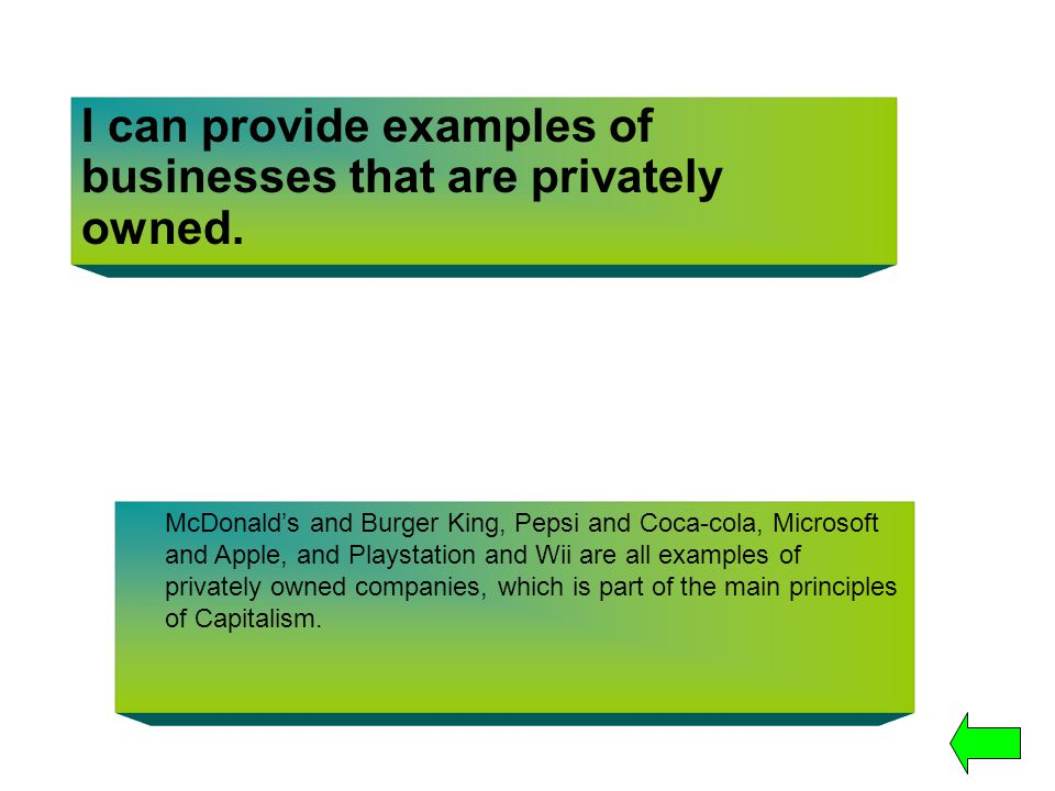 I can provide examples of businesses that are privately owned.