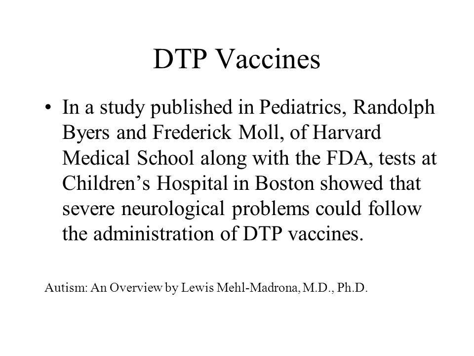 DTP Vaccines