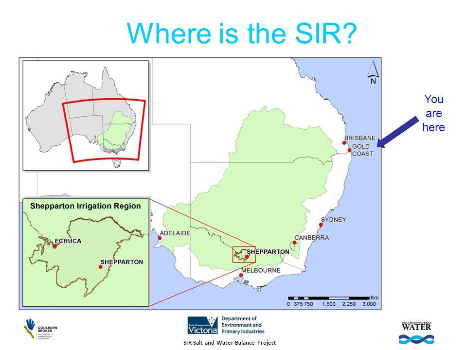 Addressing Salinity Risk in the SIR
