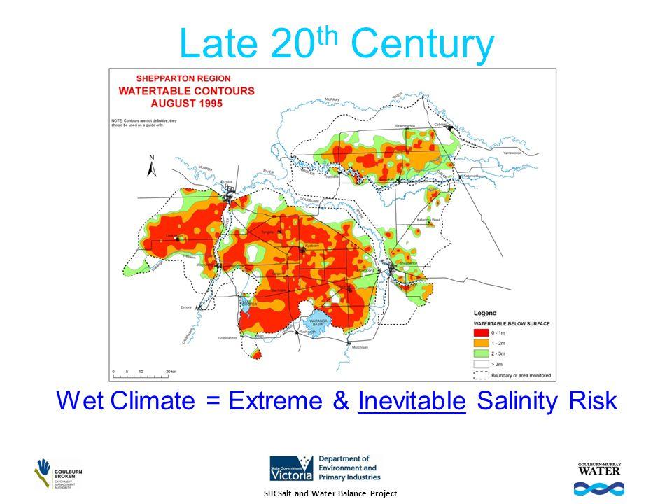 SIR Land & Water Salinity Management Plan - 1989