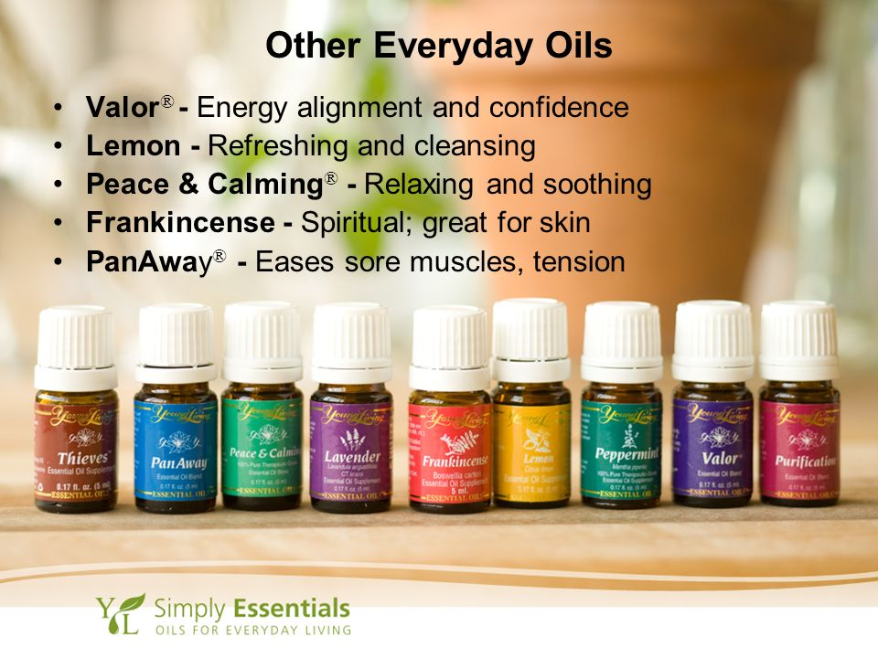 Other Everyday Oils Valor® - Energy alignment and confidence