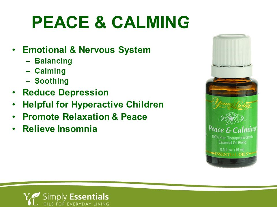 PEACE & CALMING Emotional & Nervous System Reduce Depression