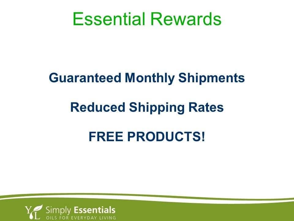 Guaranteed Monthly Shipments Reduced Shipping Rates