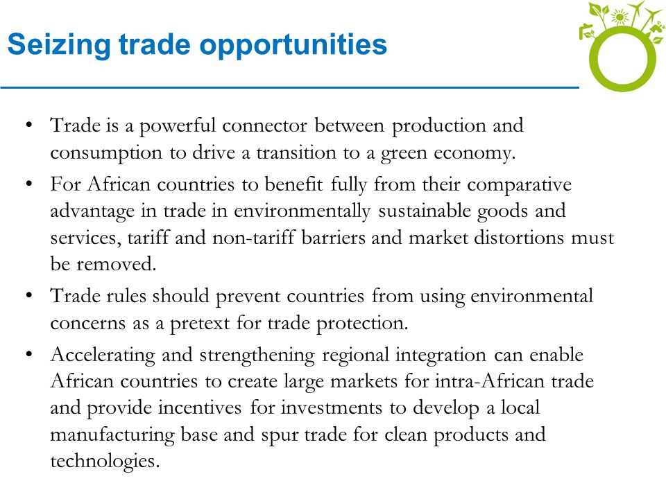 Seizing trade opportunities