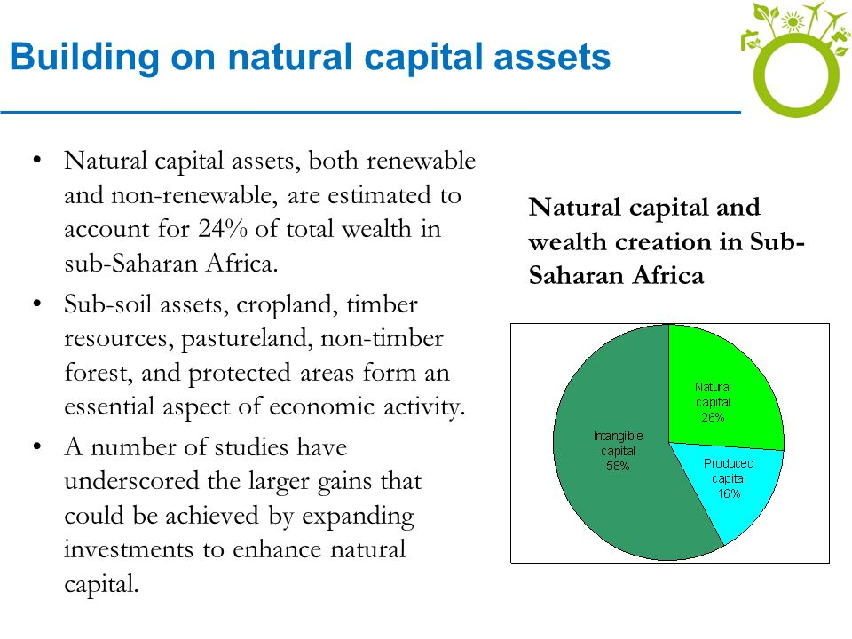 Building on natural capital assets