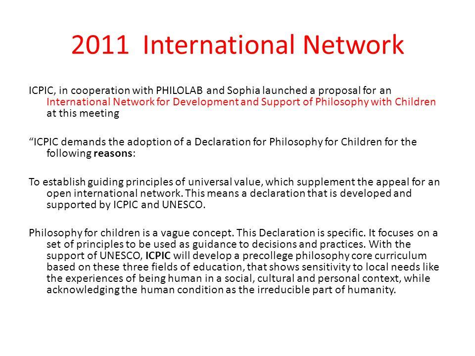 2011 International Network