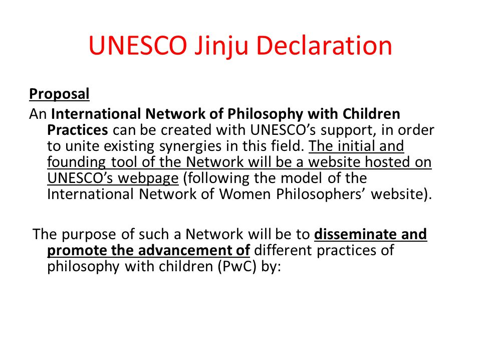 UNESCO Jinju Declaration