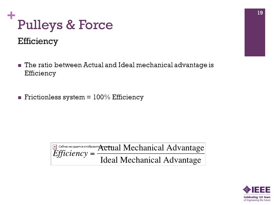 Pulleys & Force Efficiency
