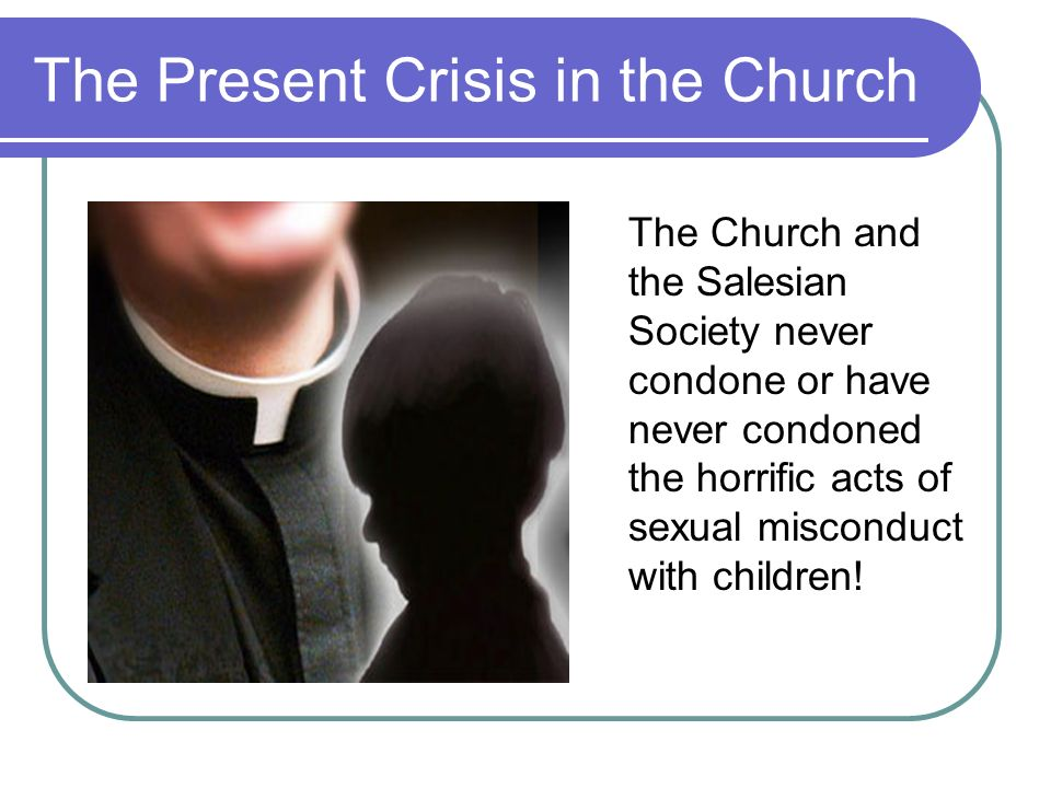 The Present Crisis in the Church