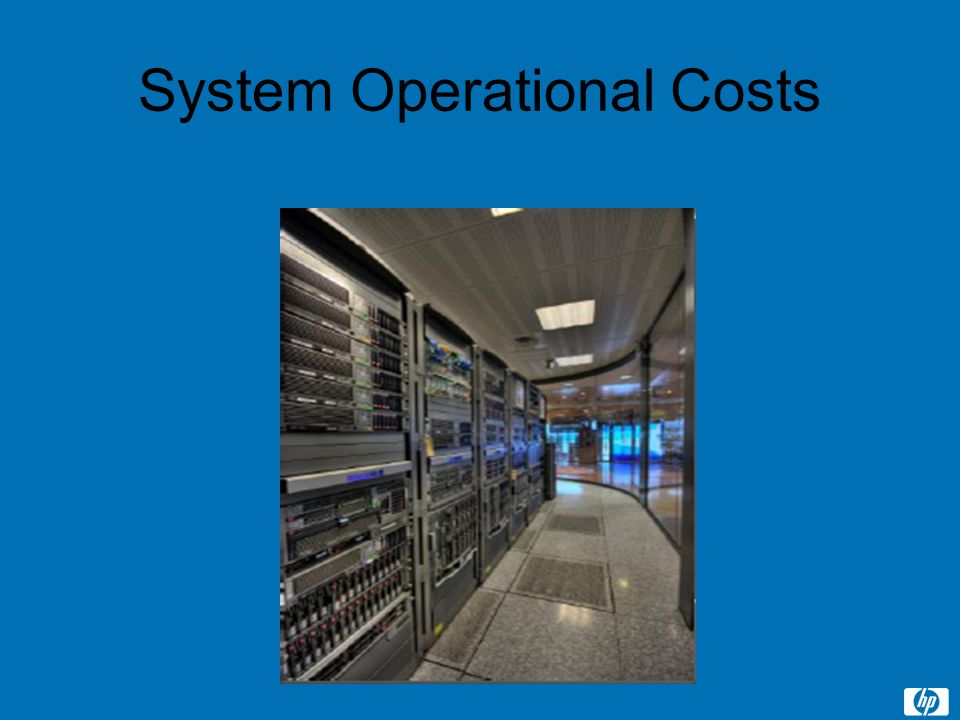 System Operational Costs