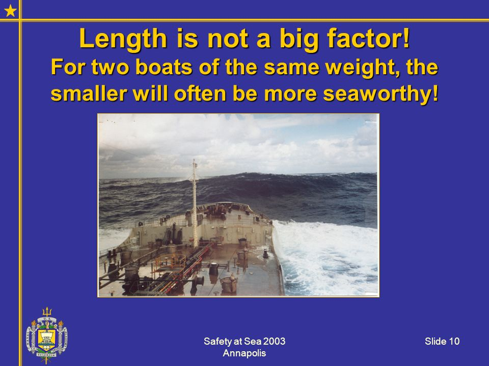 Length is not a big factor