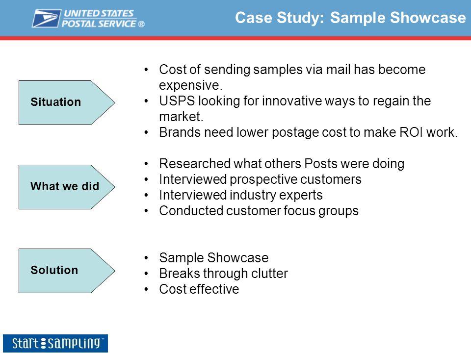 Case Study: Sample Showcase