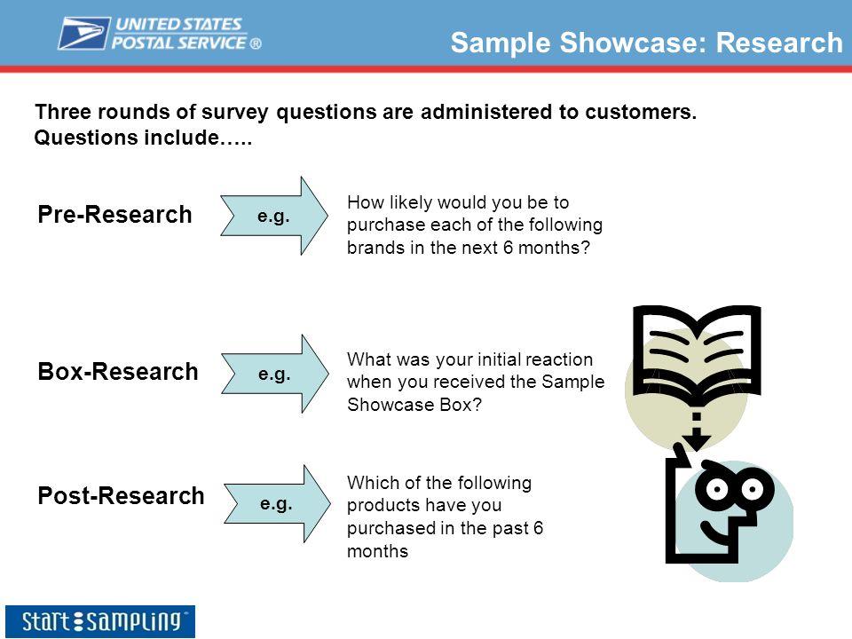 Sample Showcase: Research