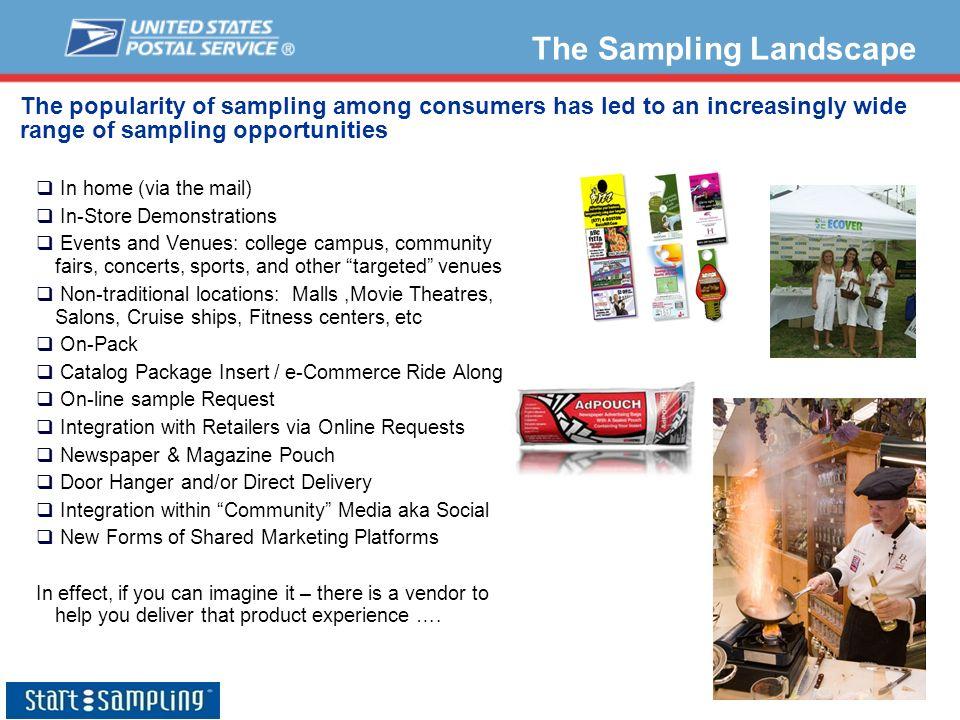 The Sampling Landscape