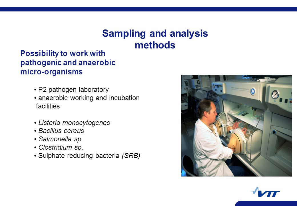 Sampling and analysis methods