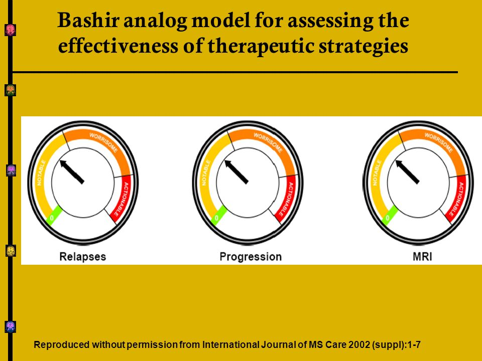 Bashir analog model for assessing the effectiveness of therapeutic strategies