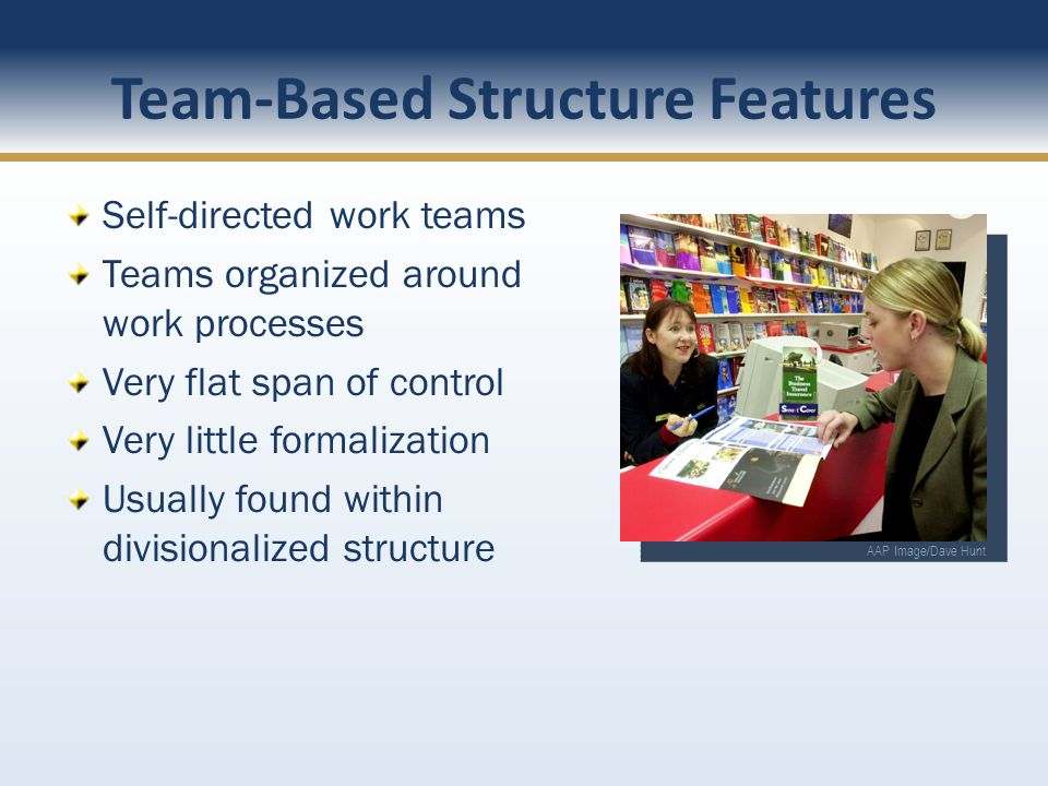 Team-Based Structure Features
