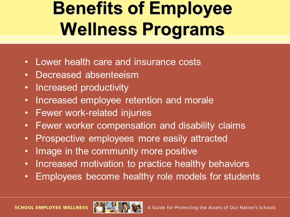 Benefits of Employee Wellness Programs