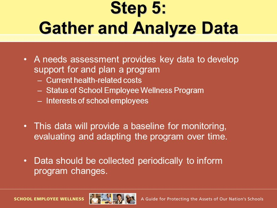Step 5: Gather and Analyze Data