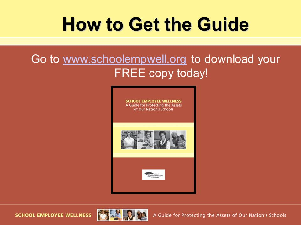 Go to www.schoolempwell.org to download your FREE copy today!
