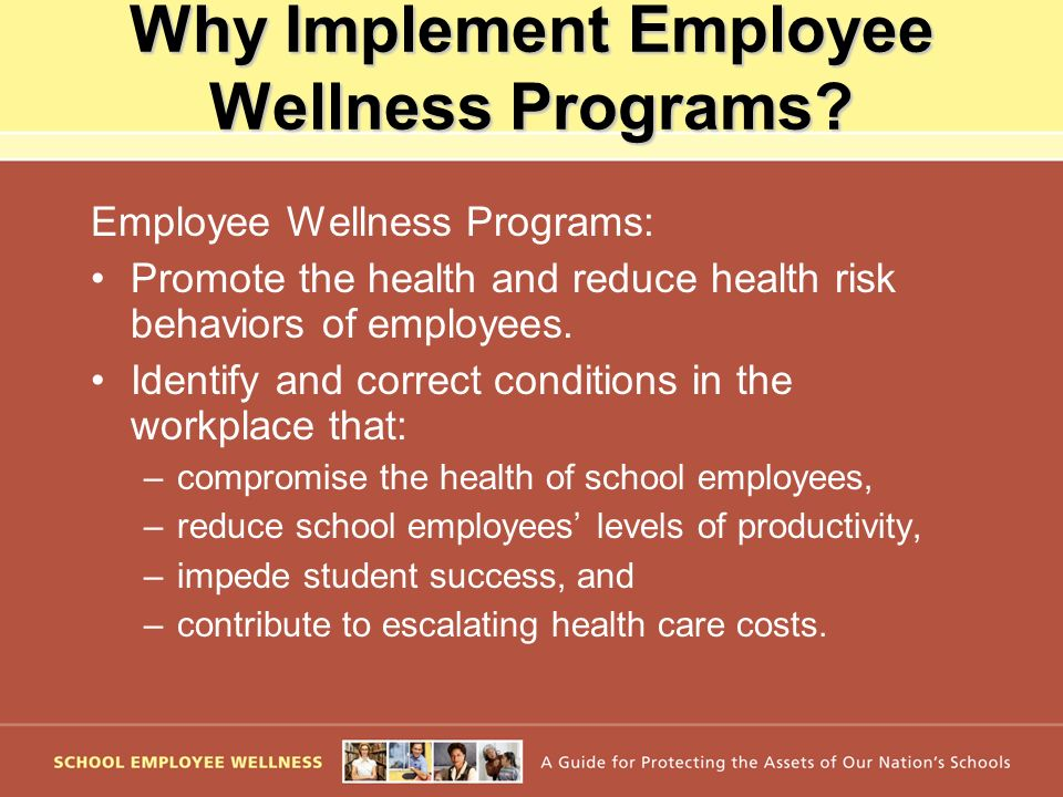 Why Implement Employee Wellness Programs